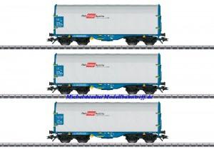 (Neu) Märklin 47225 Schiebeplanenwagen-Set, Rail Cargo Austria, Ep.V,