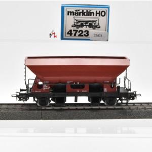 Märklin 4723.1 Drehschieber-Seitenentladewagen, SNCB, (22423)