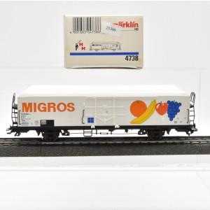 """Märklin 4738.1 Kühlwagen """"MIGROS"""", (21300)"""