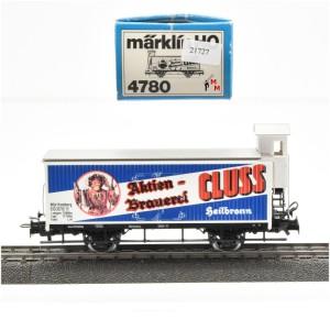Märklin 4780 Bierwagen Aktienbrauerei CLUSS, (21727)