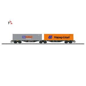 (Neu) Märklin 47807 Doppel-Tragwagen Raillogix der NL, Ep.VI,