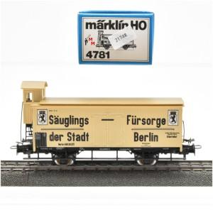 Märklin 4781 Milch-Kühlwagen, (21748)