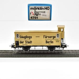 Märklin 4781 Milch-Kühlwagen, (25316)