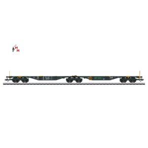 (Neu) Märklin 47813 Doppel-Tragwagen MFD Rail, Ep.VI,