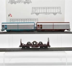 "Märklin 47881 Wagenset ""3 Güterwagen der SNCF"", (22582)"