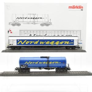 """Märklin 47882 Wagenset """"Nordwaggon"""" der SJ, (22594)"""