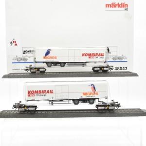 Märklin 48042 Kombirail Transportsystem der SBB, (22577)