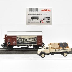 Märklin 48111 (2011701) Museumswagen 2011, (20823)