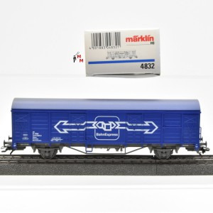 "Märklin 4832 Gedeckter Güterwagen der ÖBB ""BahnExpress"", (21855)"