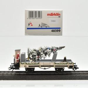 Märklin 48399 Weihnachtswagen 1999, (20884)