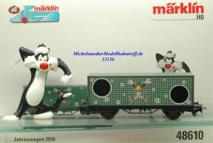 Märklin 48610 1.FC Märklin Jahreswagen 2010, (13156)