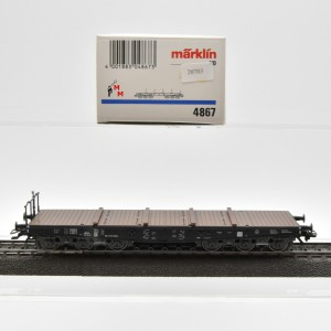 Märklin 4867.1 Schwerlast-Flachwagen der DRG, (20703)