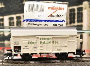 """Märklin 48754 """"Insider-Jahreswagen 1999"""", (14732)"""