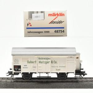 """Märklin 48754 """"Insider-Jahreswagen 1999"""", (20812)"""