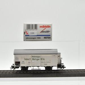 """Märklin 48754 """"Insider-Jahreswagen 1999"""", (22980)"""