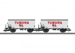 (Neu) Märklin 48778 Bierwagen-Set der DSB,