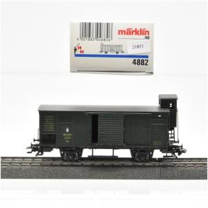 Märklin 4882 Ged. Güterwagen K.Bay.Sts.B. (21853)