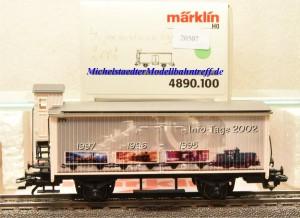 Märklin 4890/100 Info-Tage-Wagen 2002, (20507)