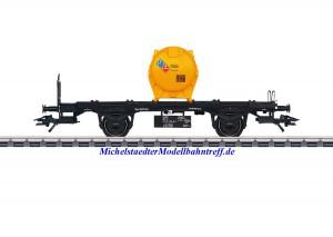(Neu) Märklin 48953 Behältertragwagen der SNCB, Ep.V,