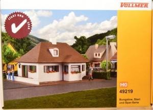 """(Neu) Vollmer 49219 Bausatz """"Bungalow"""","""