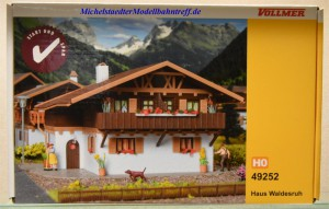 (Neu) Vollmer 49252 Bausatz Haus Waldesruh,