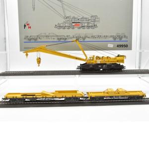 Märklin 49950 Eisenbahn-Kran-Set mit digital-Funktionen, (20933)