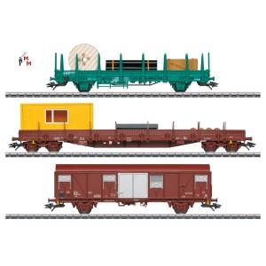 (Neu) Märklin 49956 Dienstwagenset zur Serie 55 der SNCB, Ep.V,