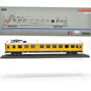 Märklin 49960 Einheitsmesswagen der DB, (25374)