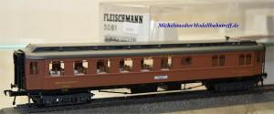 Fleischmann 5081 Mitropa Speisewagen, (16256)