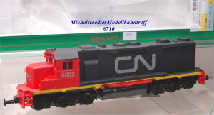 Mehano 52303 Diesellok der Canadian National Bahngesellschaft, (6710)