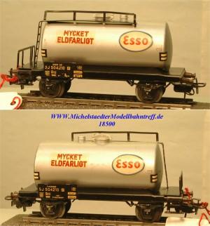 """Märklin 4524.2 Kesselwagen der SJ """"Mycket Eldfarligt"""", (18500)"""