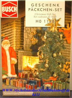 (Neu) Busch-Weihnachten 1140 Bausatz für 25 Geschenkpakete, (8431)