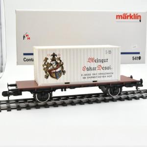 "Märklin 5410 Containerwagen ""Weingut Oskar Desoi Bad Kreuznach"", (23243)"