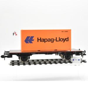 "Märklin 5415 Containerwagen ""Hapag-Lloyd"", ohne OVP, (23273)"