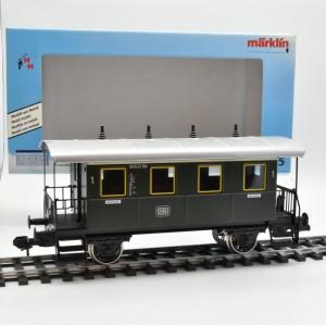 Märklin Maxi 54715 Plattformwagen 1.Klasse der DB, (23253)
