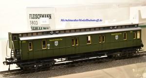 Fleischmann 5803 Postgepäckwagen der Kaiserlich Deutschen Post, (16239)
