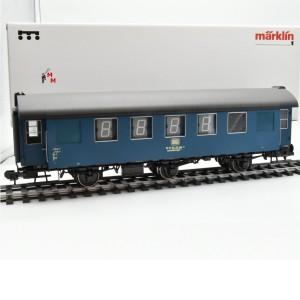 Märklin 58115 Aufenthaltwagen, Streckenmesswagen, DB, (23229)
