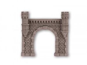 (Neu) Noch 58270 Granitmauer-Tunnelportal, H0, 1-gleisig,