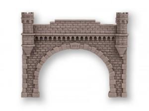 (Neu) Noch 58271 Granitmauer-Tunnelportal, H0, 2-gleisig,