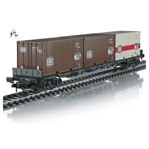 (Neu) Märklin Spur 1- 58710 Containertragwagen DB, Ep.IV,