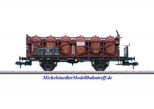 """(Neu) Märklin 58725 Spur 1 Säuretopfwagen """"EVA"""", DB, Ep.III,"""