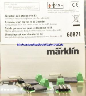 (Neu) Märklin 60821 Zurüstset zum Decoder m 83,