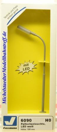 (Neu) Viessmann 6090 Peitschenleuchte, LED weiß,