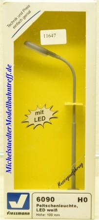 Viessmann 6090 Peitschenleuchte, LED weiß, (11647)
