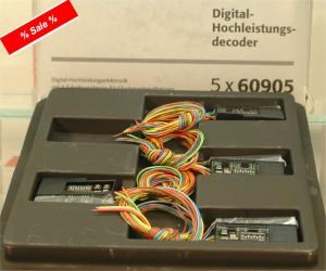 (Neu) Märklin 60905 Digital-Hochleistungsdecoder,