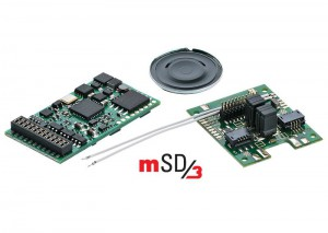 (Neu) Märklin 60979 SoundDecoder mSD3, für Start up -Loks,