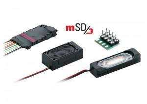 (Neu) Märklin 60986 SoundDecoder mSD3, Dieselloksound, Kabenbaum,