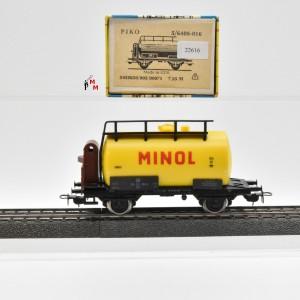 """Piko 5/6408-016 Kesselwagen """"Minol"""" der DR, (22616)"""