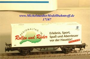 """Märklin 4481/96702 Containerw. """"Rollen und Räder"""", (17187)"""