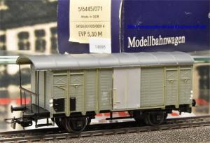 Piko 6445/071 Gedeckter Güterwagen der SBB, (14695)